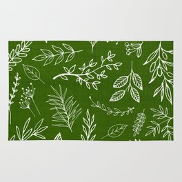 Emerald Forest Rug