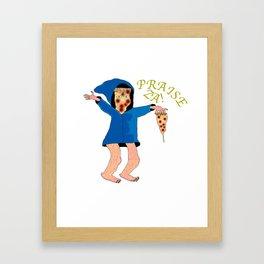 Praise Za! Framed Art Print