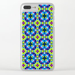 Jazzy Circle Circles Clear iPhone Case