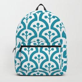 Atomic Mushroom Cerulean Blue 3 Backpack
