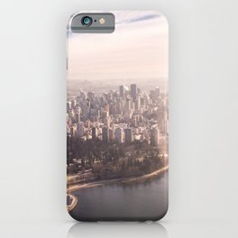 Vancouver Aerial Photography iPhone Case