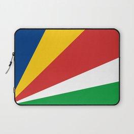 Seychelles country flag Laptop Sleeve