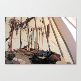A warriors place Canvas Print