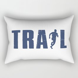 Trail Running Rectangular Pillow