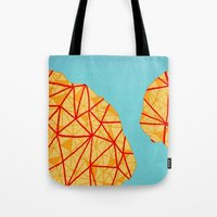 detroit Tote Bags featuring - detroit - by Magdalla Del Fresto