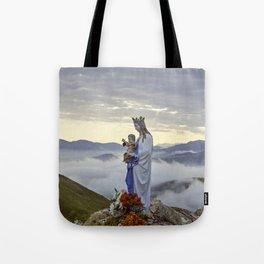 Vierge d'Orisson; Camino Frances Tote Bag