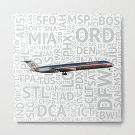 Airliner101 Metal Print