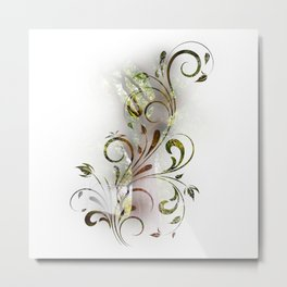 Tree Vine Metal Print