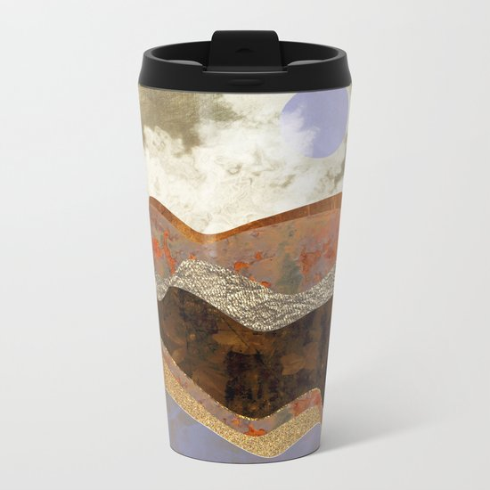 Lavender Hills Metal Travel Mug