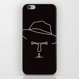 Tom Waits iPhone Skin