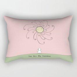 You are my sunshine - Pink Rectangular Pillow
