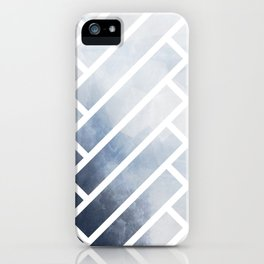winter herringbone iPhone Case