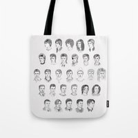 Tote Bags featuring Time May Change Me by Helen Green