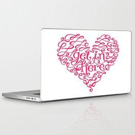 Get In My Heart Laptop & iPad Skin