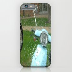 rainy day scooter iPhone 6s Slim Case