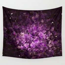 Amethyst cave Wall Tapestry