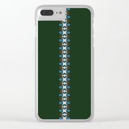Patta Pattern Clear iPhone Case