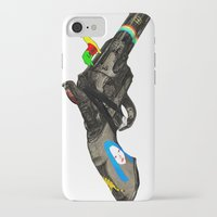 hippy iPhone & iPod Cases featuring HIPPY GUN by kasi minami