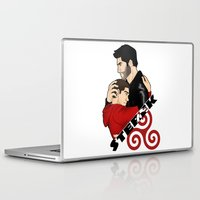 sterek Laptop & iPad Skins featuring Sterek by adorible