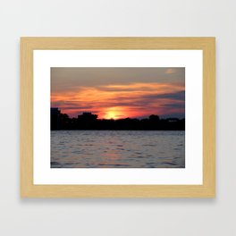 Sarnia Sunset Framed Art Print