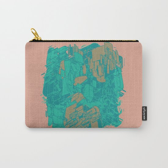 Graphic Junk Carry-All Pouch