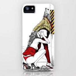 asc 702 - Les nouveaux terrains de chasse (I guess my spirit animal is a wolf) iPhone Case