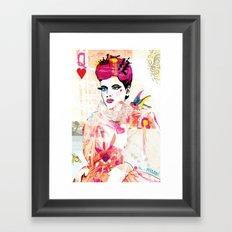La Queen De Dimanche / The Queen of Sunday Framed Art Print