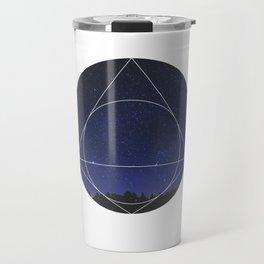 Magical Universe - Geometric Photographic Travel Mug