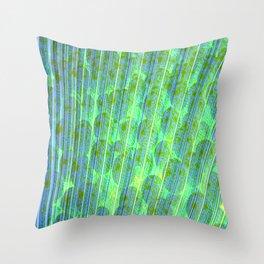 grass print Throw Pillow