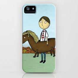 Horseback iPhone Case