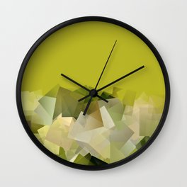 Mount St. Victory geometric. Design for Paul Cézanne Wall Clock