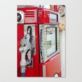 Vintage Gas Pump 3 Canvas Print