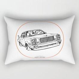 Crazy Car Art 0203 Rectangular Pillow