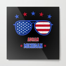 Adrian Michigan Metal Print