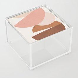 Abstract Stack II Acrylic Box