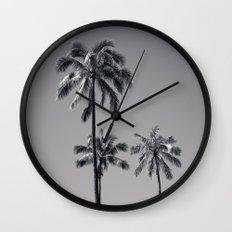 palm treee Wall Clock