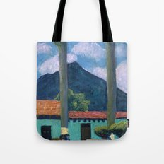 Antigua Park Bench Tote Bag