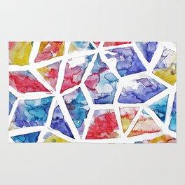 Kaleidoscope Watercolor Rug