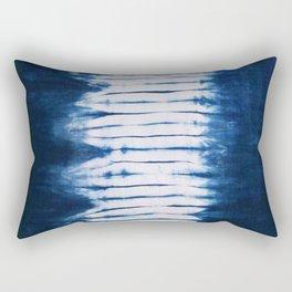 -A22- Indigo Traditional Original Arteresting Artwork. Rectangular Pillow