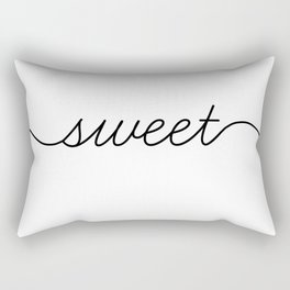 sweet dreams (1 of 2) Rectangular Pillow
