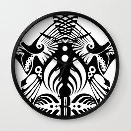 Bassnectar Family Crest Wall Clock