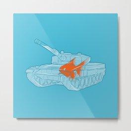 Fish Tank Metal Print
