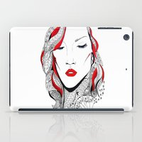 rihanna iPad Cases featuring Rihanna  by Ina Spasova puzzle