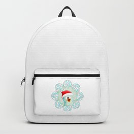Christmas Cute Penguin Backpack