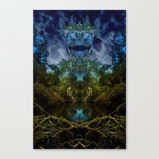 Open the door to fantasy and breathe deeply of the mystery Canvas Print