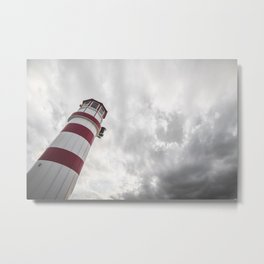From the Bottom of the Lighthouse Metal Print