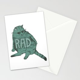 Rad Cat Stationery Cards