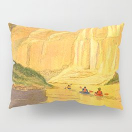 Kayaking The Colorado River In The Grand Canyon Pillow Sham