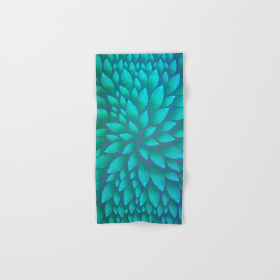 Petal Burst #14 Hand & Bath Towel