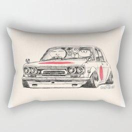 Crazy Car Art 0173 Rectangular Pillow